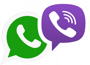WhatsApp, Viber